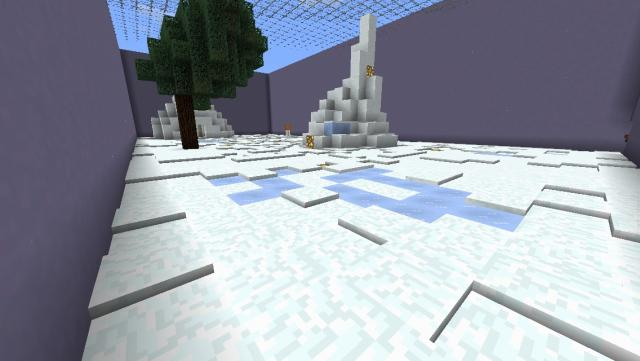 Potion pvp map mcpelux potion pvp map is ideal map for you this map have 4 maps snow arena desert arena nether arena mushroom arena sciox Image collections